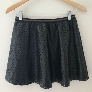 Epic Threads Bottoms - Epic Threads Faux Leather Star Skirt Size XL